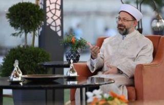 Ali Erbaş'tan 'Şeker Bayramı' açıklaması!