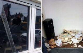 Almanya'da camilere saldırdılar!