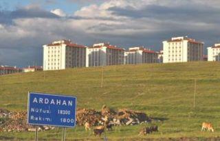 Ardahan'da 4 konut satıldı!..