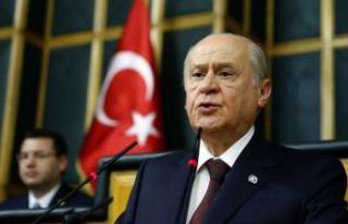 Bahçeli'den 'yargı reformu' açıklaması