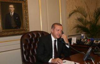 Erdoğan'dan 'İzlanda' telefonu