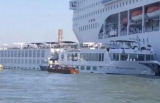 İtalya'da korkutan gemi kazası