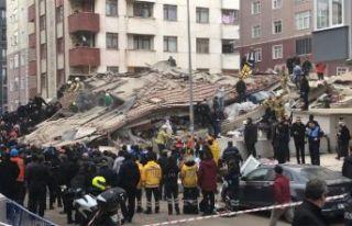 Kartal'da çöken bina davasında mağdurlar...