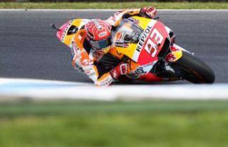 Katalonya'da zafer Marquez'in!
