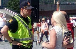 Norveç'te Kur'an-ı Kerim provokasyonu