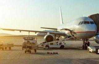 Panik atak geçirdi, uçağı birbirine kattı