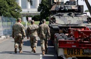 ABD'de tanklar sokakta!