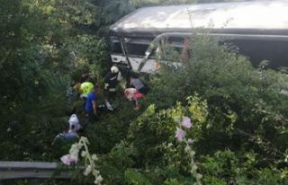 Düzce'de korkunç kaza!