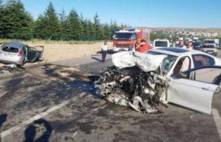 Elmadağ'da feci kaza: 3 kişi öldü