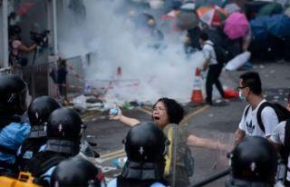 Hong Kong'lu öğrenciler görüşmeyi reddetti