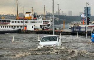 İstanbullular dikkat! Meteoroloji bu akşam için...