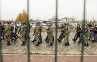 Jandarma darbe davasında müebbet hapis talebi