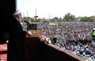 """Ruhani: """"ABD başarısız oldu"""""""