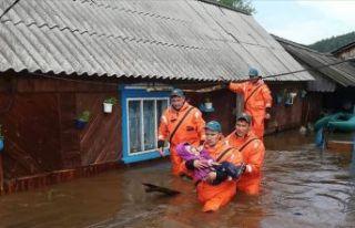 Rusya'da sel felaketi: 12 kişi öldü