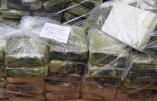 462 milyon liralık kokain ele geçirildi
