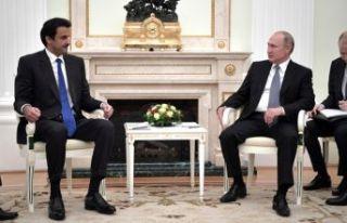 Al Sani ile Putin görüştü