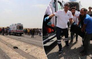 Diyarbakır'da feci kaza: 2 ölü, 8 yaralı