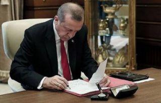 Erdoğan imzaladı... İşte atama kararları
