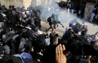 Filistin'den Mescid-i Aksa saldırısına kınama!