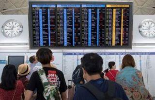 Hong Kong'da tüm uçuşlar iptal!