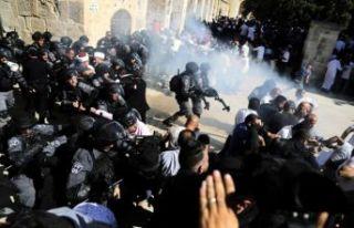 """İran'dan İsrail'e sert """"Filistin""""..."""