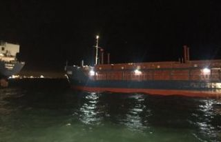 Marmara'da iki gemi çarpıştı!