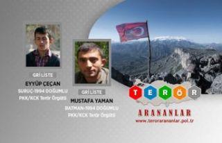 Öldürülen teröristlerden ikisi gri kategoriden