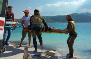 Serbest dalış rekortmeninin ekibi çıkardı!