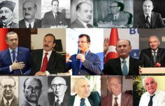 İstanbul'un başkanları!