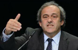 Eski UEFA Başkanı serbest bırakıldı