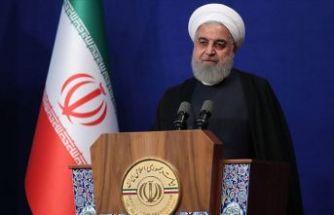 Ruhani: Sizin derdiniz müzakere değil!