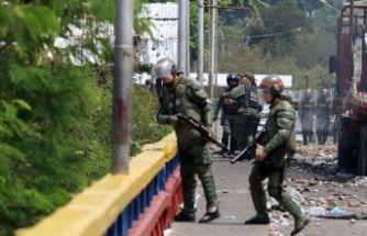 Venezuela-Kolombiya sınırında çatışma