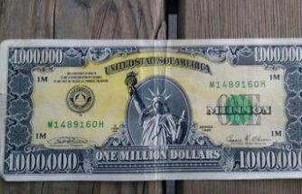 1 milyon dolarlık banknot bulundu
