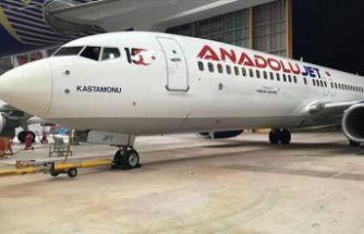 AnadoluJet '15 Temmuz' logosu koydu