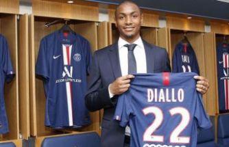 PSG, Diallo'yu kadrosuna kattı