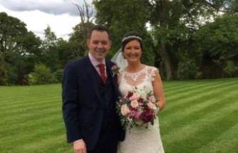Düğün günü düştü, evlendiğini unuttu...
