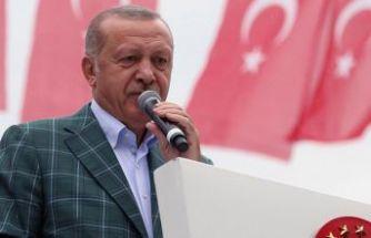 Erdoğan müjdeyi verdi... 1,5 yılda bitecek