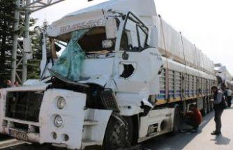 Eskişehir'de zincirleme kaza