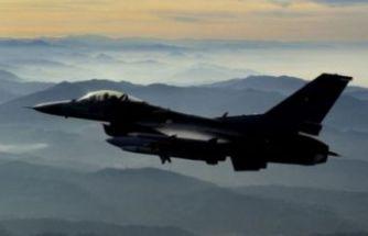 Kuzey Irak'a hava harekâtı! 2 terörist etkisiz