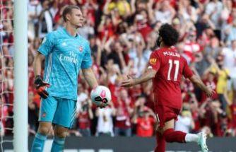 Liverpool, Arsenal'i üç golle geçti