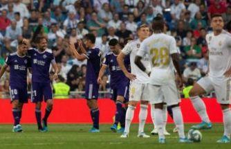 Real Madrid, sahasında puan kaybetti