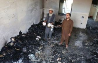 Taliban kız lisesini ateşe verdi