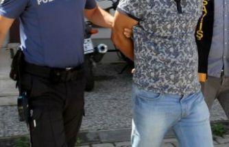 Terör şüphelisi HDP binasında yakalandı