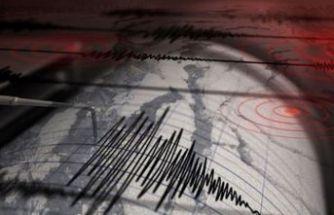 Tunceli'de küçük ölçekli deprem!