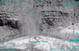 TSK havadan vurdu: 14 terörist...