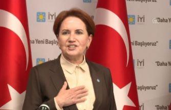 Akşener'den Bahçeli'ye 'Öcalan' tepkisi