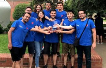 NASA'nın uydu yarışmasına Türk damgası