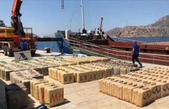 Türk istihbaratı 12 ton uyuşturucu yakalattı