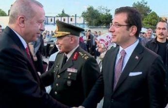 Erdoğan ve İmamoğlu böyle çekildi