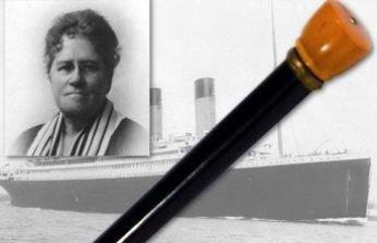 Titanic yolcusunun efsane bastonu satıldı